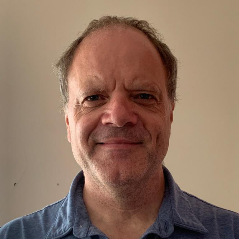 A headshot of David Marshall, UN Studies Lecturer.
