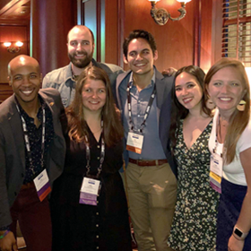 The SPS Student Affairs team presented at NASPA 2019