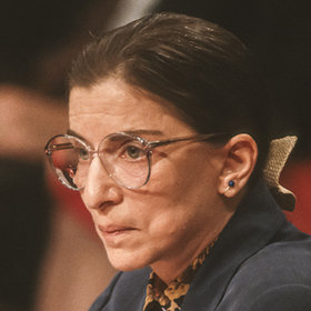 Ruth Bader Ginsburg in 1993, during her confirmation hearings for the U.S. Supreme Court.