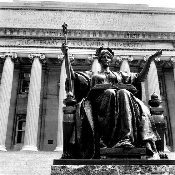 A photo of the Columbia statue