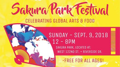 Sakura Park Festival Harlem on September 9